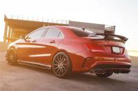Benz CLA update carbon fiber body kit or wide body kit or hood
