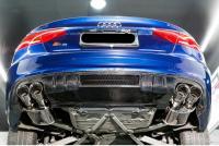 Audi A5 SLINE S5 front lip after lip spoiler hood