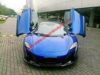 Mclaren MP4-12C update 650S Carbon fiber Body kit front bumper after bumper hood fenders  and P1 carbon fiber hood