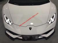Huracan LP610Update DMC Carbon fiber body kit Front lip after lip side skirts wing spoiler