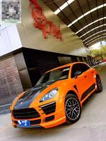 Porsche Macan(14-16) update Germany GSC wide body kit front bumper after bumper side skirts hood rear spoiler fenders