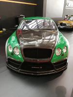 Bentley GT wide body kit front bumper after bumper side skirts fenders hood spoiler