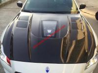 Maserati Quattroporte/GranTurismo update  clear carbon fiber hood