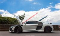 Audi R8 update carbon fiber body kit (front lip,after lip,wing,skirts)