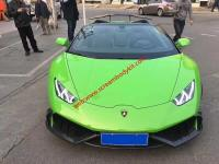 Huracan LP610-4 Update Mansory Carbon fiber body kit front lip after lip side skirts spoiler