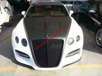 08-14 Bentley Continental GT/GTC/GTS (2005--2011) update ASI wide body kit front buper after bumper side skirts