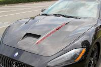 Maserati GranTurismo /GTS /grancabrio  update carbon fiber hood and side skirts