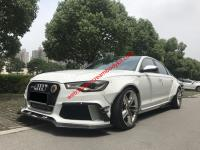 12-15 Audi A6 RS6 ABT body kit front lip after lip side skirts fendners