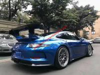 Porsche 911 update GT3 body kit and Apr wing front bumper lip after bumper lip side skirts rear spoiler
