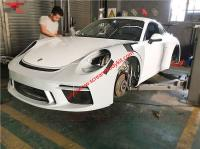 Porsche 911 (991.2) modify GT3 body kit front bumper after bumper side skirts wing rear spoiler