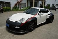 Porsche 911 (997)body kit front bumper after bumper side skirts rear spoiler fenders