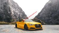Audi A5 S5 coupe modify LB wide body kit front bumper front lip after lip side skirts fenders spoiler