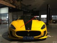Maserati 4200GT update  wide body kit front bumper after bumper side skirts feners spoiler