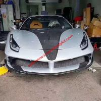 Ferrari 488GTB body kit front bumper after bumper side skirts feners spoiler