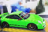 Porsche 997.1 GT3 body kit front bumper after bumper side skirts wing rear spoiler