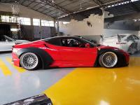 Ferrari F430 update LB wide body kit