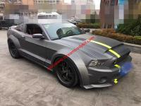10-13 Mustang GT500 update wide body kit front lip after lip side skirts fenders