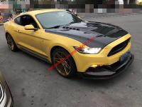 Mustang body kit front lip or after lip wing hood