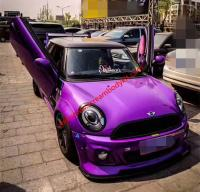 MINI R56 update LB wide body kit front bumper after bumper side skirts fenders spoiler