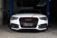 12-19 Audi A5 S5 body kit front lip after lip dry carbon fiber