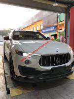Maserati levante update mansory carbon fiber front lip and after lip and others carbon fiber parts