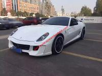 Ferrari 599 modify Vorsteiner body kit front buper after bumper side skirts