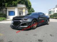 New 6 Gen Camaro Update Wide Body Kit front lip after side skirts fender hood