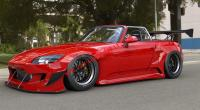 S2000 AP1 AP2 Rocket Bunny body kit front bumper fenders wing spoiler front lip side skirts