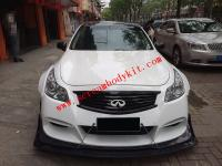 infiniti G35 update wide body kit  front lip  after lip side skirts fenders
