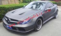Mercedes-Benz SL Update body kit  front bumper after bumper side skirts fenders another