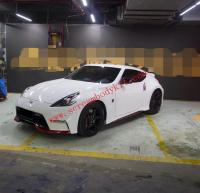 09-17 370Z Z34 update NISMO body kit front bumper after bumper