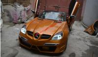Mercedes-Ben R171 SLK wide body kit front bumper after bumper side skirts fenders