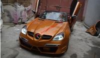 Mercedes-Ben R171 SLK update  wide body kit front bumper after bumper side skirts fenders