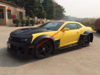 Camaro wide body kit front bumper after bumper hood side skirts wing
