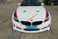 BMW Z4 E89 update another wide body kit front bumper after bumper side skirts hood fenders