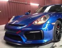 09-12 Porsche cayman 987 update GT4 body kit front bumper after bumper side skirts wing rear spoiler
