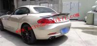 BMW Z4 E89 update carbon fiber RT wing  after bumper