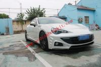 Toyota FT86 GT86 FRS SUBARU BRZ update GIALLA body kit front bumper after bumper side skirts wing spoiler