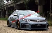 13-16 Volkswagen CC Update  wide body kit front bumper after bumper wing side skirts hood