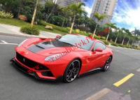 Ferrari F12 Update DMC carbon fiber body kit front lip after lip side skirts