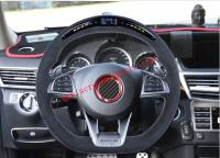 Mercedes-Ben AMG A45 C63 S63 G63 A B C E CLA GLC GLE AMG Carbon fiber steering wheel or led steering wheel