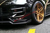 Porsche macan /macan turbo  body kit front lip after lip side skirts carbon fiber