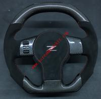 Nissan 350Z carbon fiber steering wheel or Can add LED