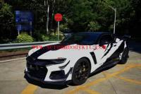 6 gen camaro update 1LE front bumper side skirts hood wing fender front lip after lip