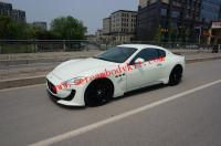 Maserati granturismo GTS body kit front bumper after lip fenders