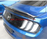 15-18 mustang carbon fiber spoiler wing