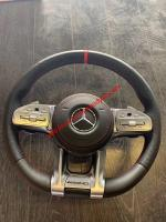 OLD OR NEW MODEL mercedes-benz steering wheel AMG CARBON or LED