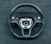 Mercedes-Ben W204 C63 AMG update carbon fiber Steering wheel
