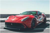 F12 Berilnetta 2013-2015  update wide body kit  front bumper after bumper front lip after lip spoiler fenders