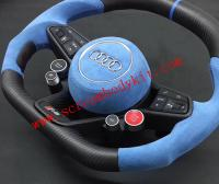 Audi R8 carbon fiber steering wheels
